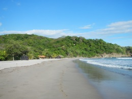 Playa Ocotal all to ourselves.